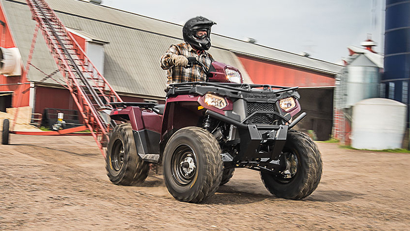 2017 Polaris Sportsman 570 Eps Utility Edition At Fort Fremont Marine Wi