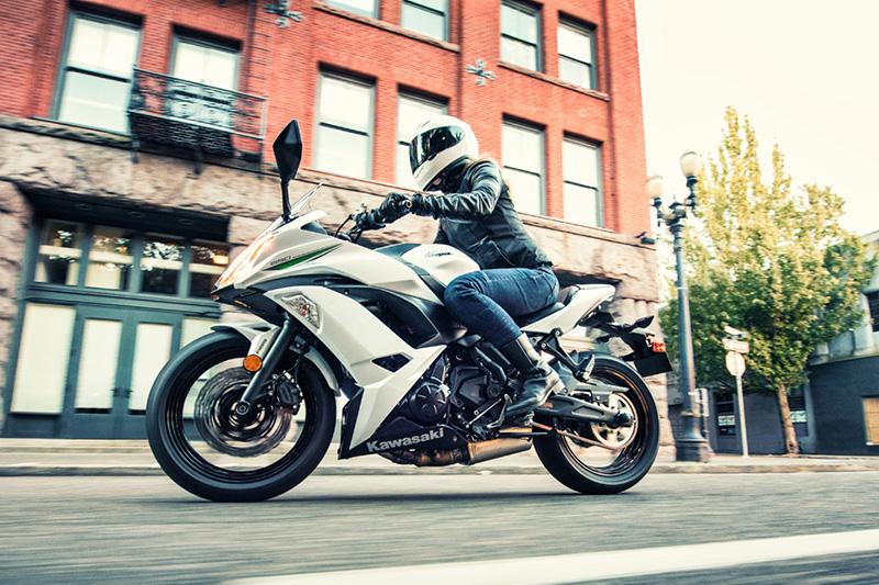 2017 Kawasaki Ninja 650 ABS at Hebeler Sales & Service, Lockport, NY 14094