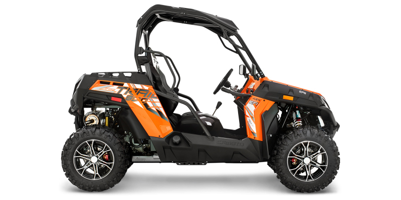 2017 CFMOTO ZFORCE 800 EPS Trail at Hebeler Sales & Service, Lockport, NY 14094
