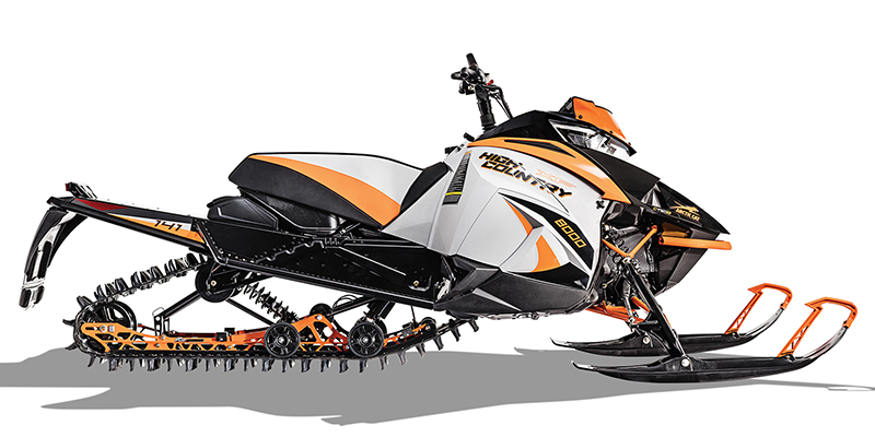 2018 Arctic Cat XF 8000 High Country at Lincoln Power Sports, Moscow Mills, MO 63362