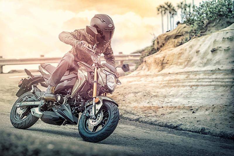 2018 Kawasaki Z125 PRO Base at Kawasaki Yamaha of Reno, Reno, NV 89502