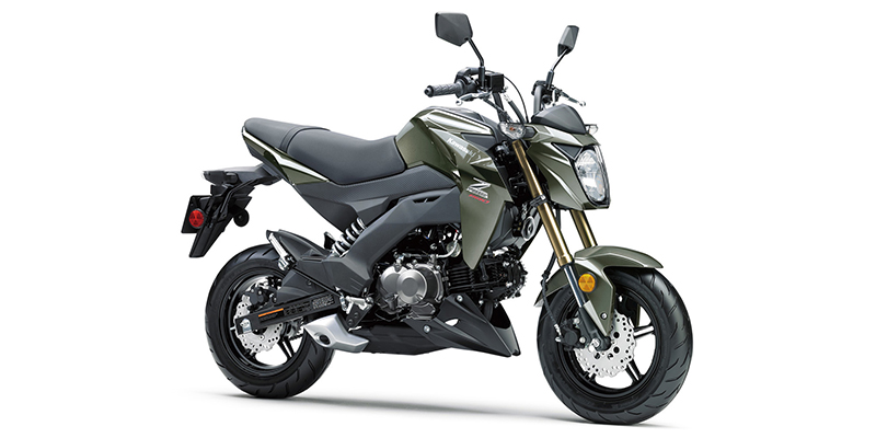 2018 Kawasaki Z125 PRO Base at Rod's Ride On Powersports, La Crosse, WI 54601