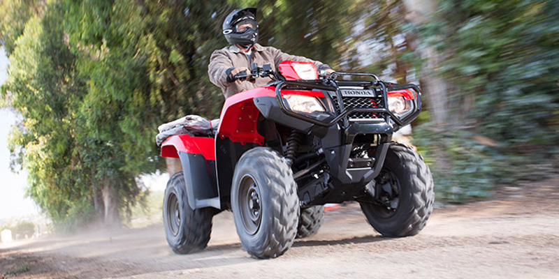 2018 Honda FourTrax Foreman® Rubicon 4x4 Automatic DCT at Dale's Fun Center, Victoria, TX 77904