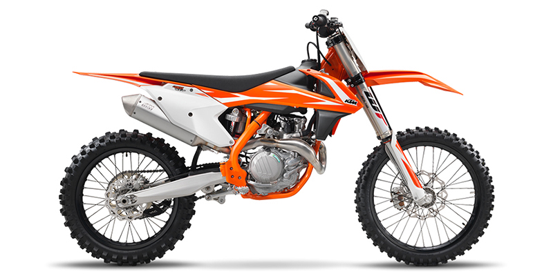 450 SX-F at Hebeler Sales & Service, Lockport, NY 14094