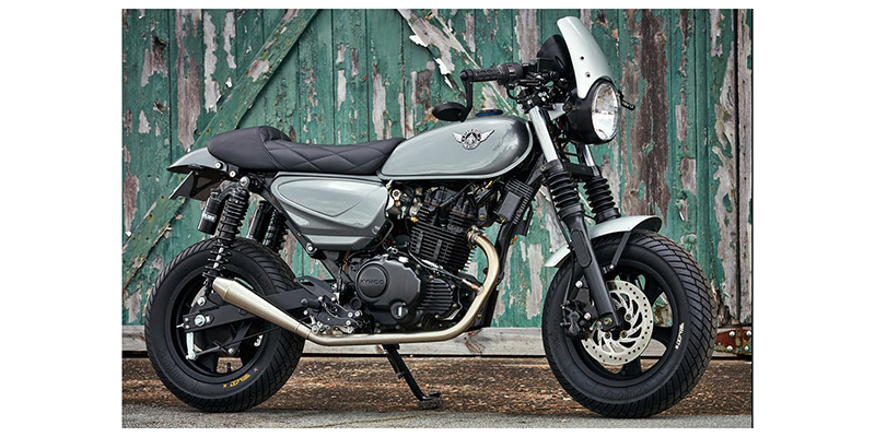 Motorcycle at Thornton's Motorcycle - Versailles, IN