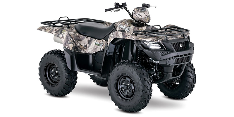 KingQuad 500AXi Power Steering Camo at Hebeler Sales & Service, Lockport, NY 14094