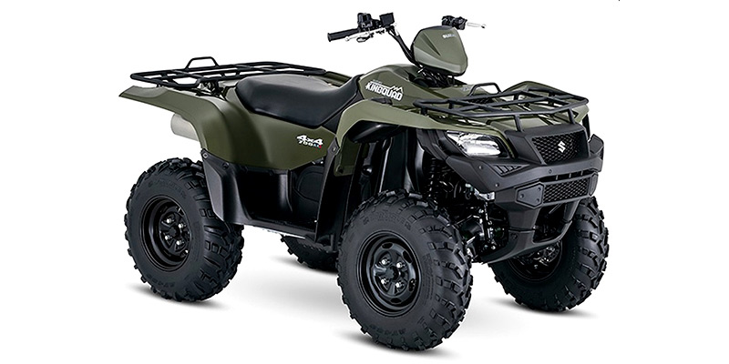 KingQuad 750AXi Power Steering at Hebeler Sales & Service, Lockport, NY 14094