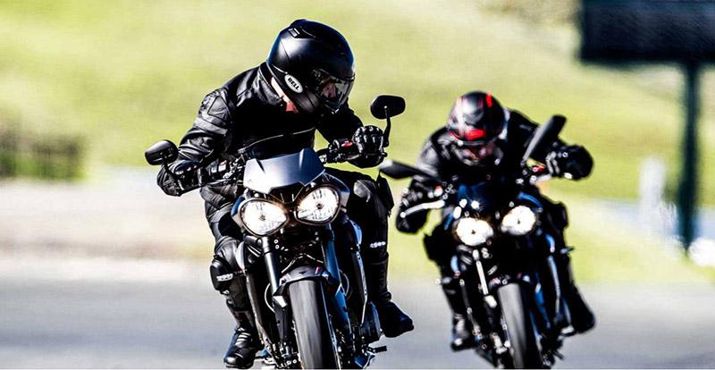 2022 Triumph Street Triple R Jet Black R at Martin Moto