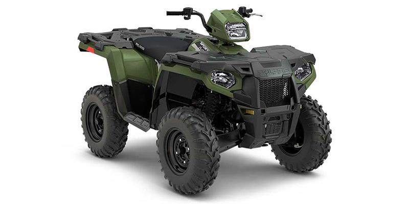 2018 Polaris Sportsman 450 HO Base at Midwest Polaris, Batavia, OH 45103