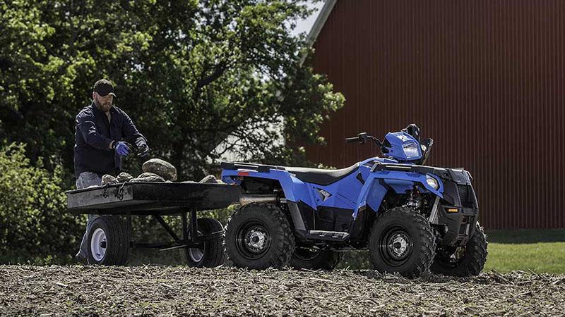 2018 Polaris Sportsman 450 HO Base at Midwest Polaris, Batavia, OH 45103