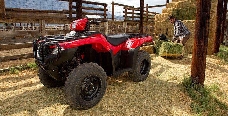2018 Honda FourTrax Foreman 4x4 at Waukon Power Sports, Waukon, IA 52172