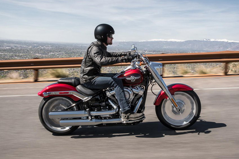 2018 Harley-Davidson Softail® Fat Boy® at Stutsman Harley-Davidson, Jamestown, ND 58401