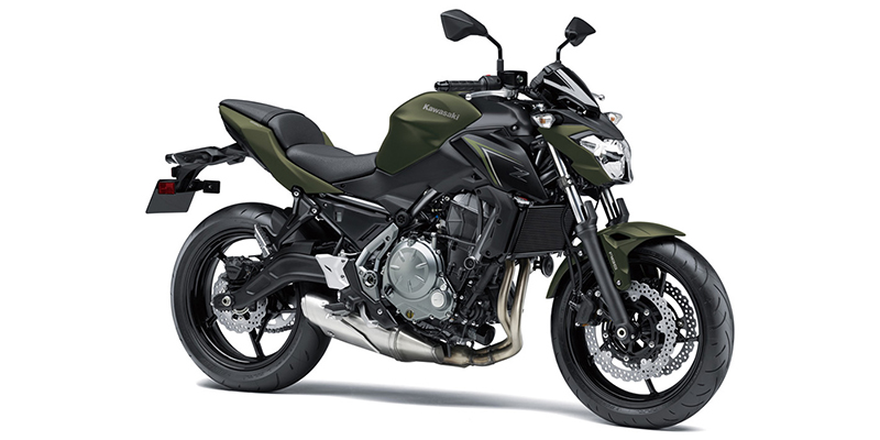 2018 Kawasaki Z650 ABS at Hebeler Sales & Service Review Site