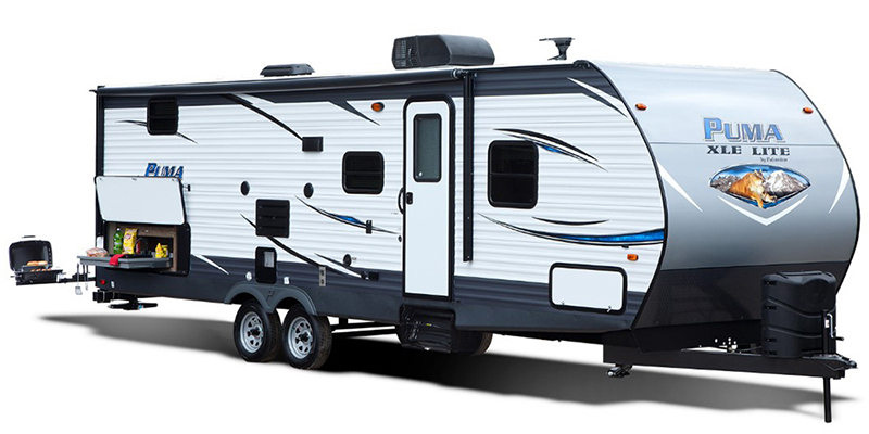 2018 palomino puma xle lite 30dbsc bunks beds campers rv center. Black Bedroom Furniture Sets. Home Design Ideas