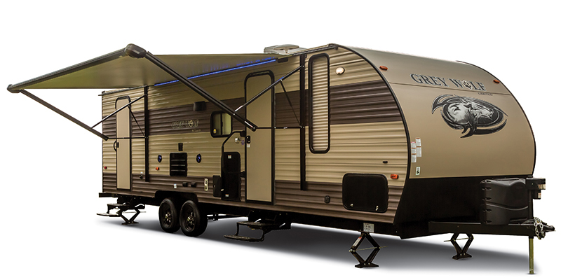 Cherokee Grey Wolf 23DBH at Campers RV Center, Shreveport, LA 71129