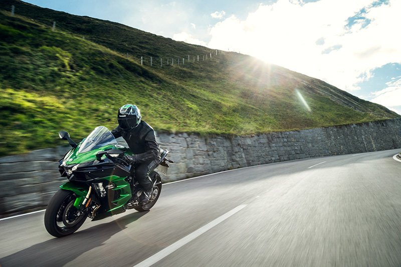 2018 Kawasaki Ninja H2 SX SE at Hebeler Sales & Service, Lockport, NY 14094