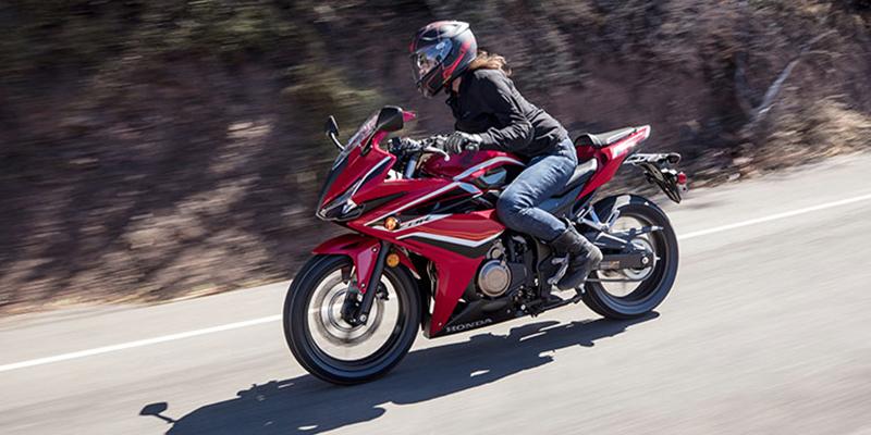 2018 Honda CBR500R Base at Kent Powersports, North Selma, TX 78154