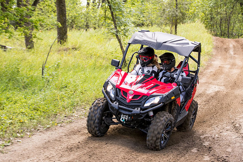 2018 CF MOTO ZFORCE 500 Trail at Randy's Cycle, Marengo, IL 60152