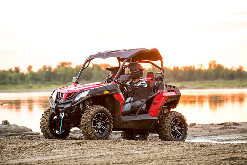 2018 CFMOTO ZFORCE 500 Trail at Hebeler Sales & Service, Lockport, NY 14094