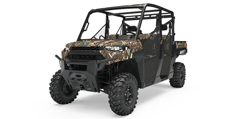 2019 Polaris Ranger Crew® XP 1000 EPS Premium Polaris Pursuit® Camo at Sloans Motorcycle ATV, Murfreesboro, TN, 37129