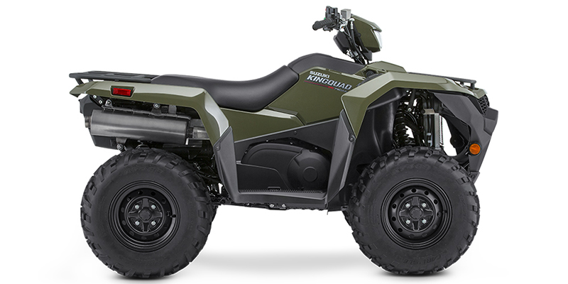 2019 Suzuki KingQuad 750 AXi Power Steering at Hebeler Sales & Service, Lockport, NY 14094