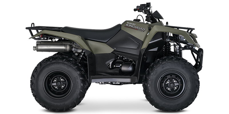 2019 Suzuki KingQuad 400 FSi at Sloans Motorcycle ATV, Murfreesboro, TN, 37129