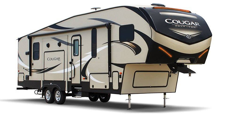 Cougar Half-Ton 25RES at Youngblood Powersports RV Sales and Service