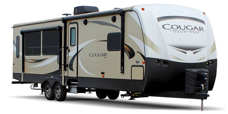 Cougar Half-Ton 34TSB at Youngblood Powersports RV Sales and Service