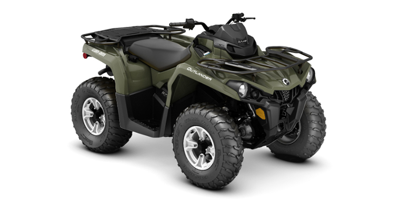 2019 Can-Am Outlander 570 DPS $176/month at Power World Sports, Granby, CO 80446