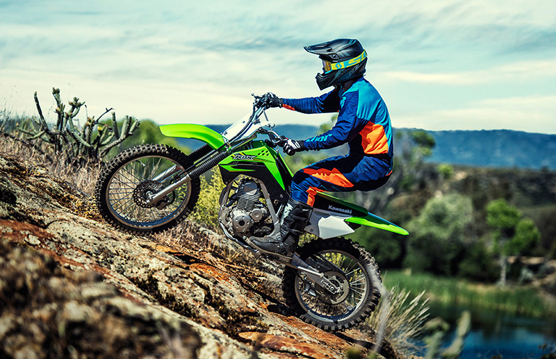 2019 Kawasaki KLX 140G at Hebeler Sales & Service, Lockport, NY 14094