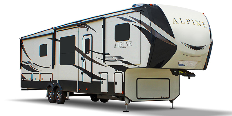 Alpine 3801FK at Youngblood Powersports RV Sales and Service
