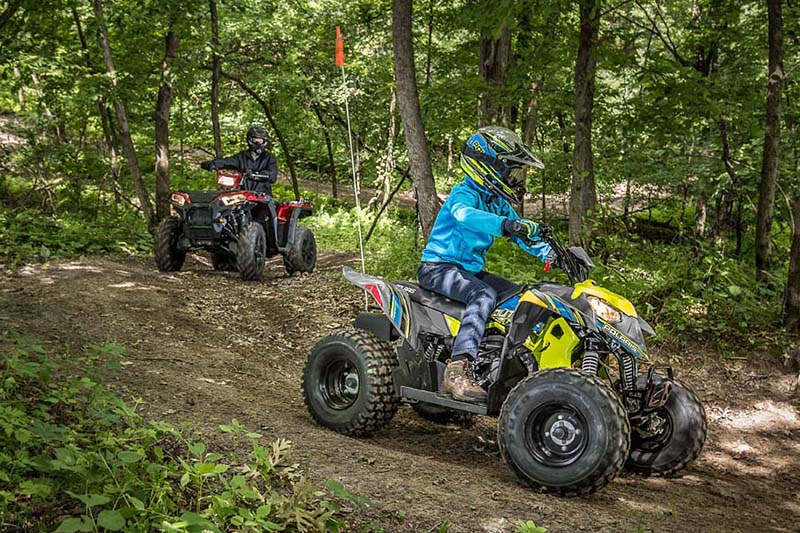 2019 Polaris Outlaw 110 EFI at Fort Fremont Marine, Fremont, WI 54940