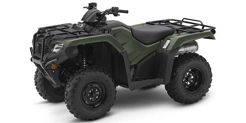 2019 Honda FourTrax Rancher® 4X4 Automatic DCT EPS at Kent Powersports of Austin, Kyle, TX 78640