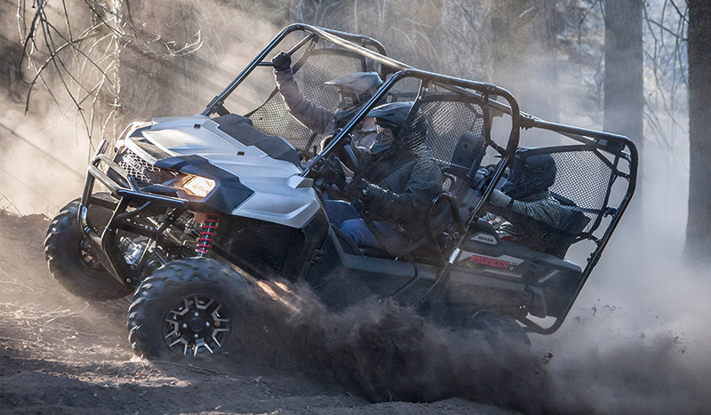 2019 Honda Pioneer 700-4 SEAT DLX Deluxe at Genthe Honda Powersports, Southgate, MI 48195