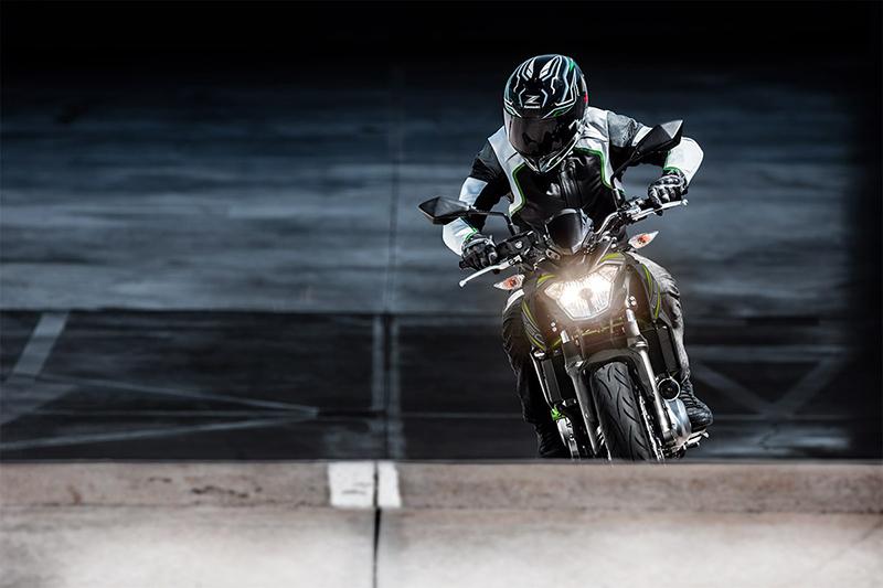 2019 Kawasaki Z650 Base at Kawasaki Yamaha of Reno, Reno, NV 89502