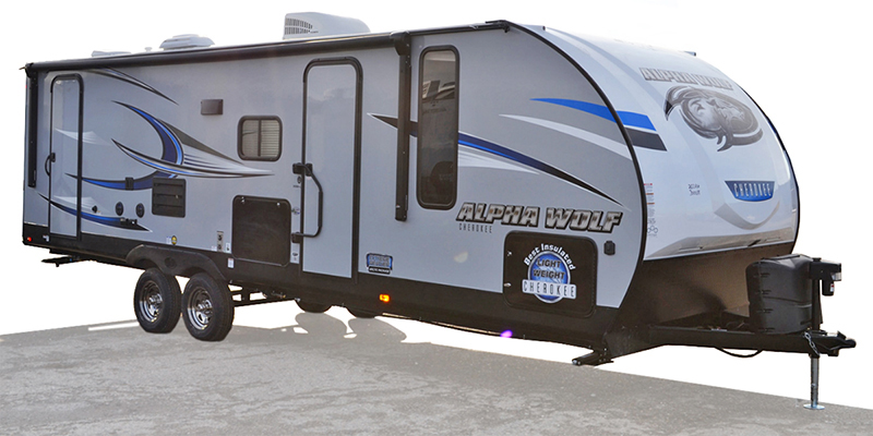 Cherokee Alpha Wolf 26DBH-L at Youngblood Powersports RV Sales and Service