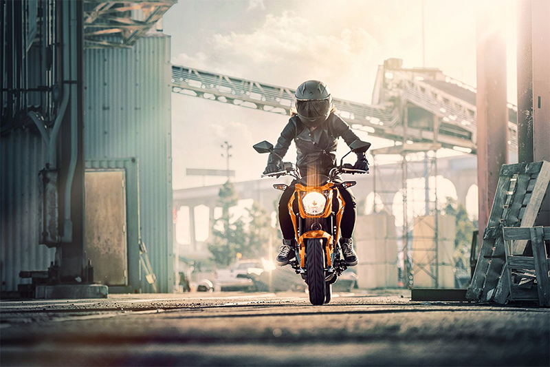 2019 Kawasaki Z125 PRO Base at Kawasaki Yamaha of Reno, Reno, NV 89502