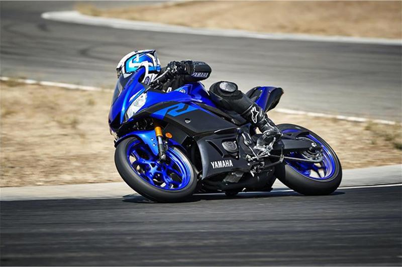 2019 Yamaha YZF R3 at Lynnwood Motoplex, Lynnwood, WA 98037