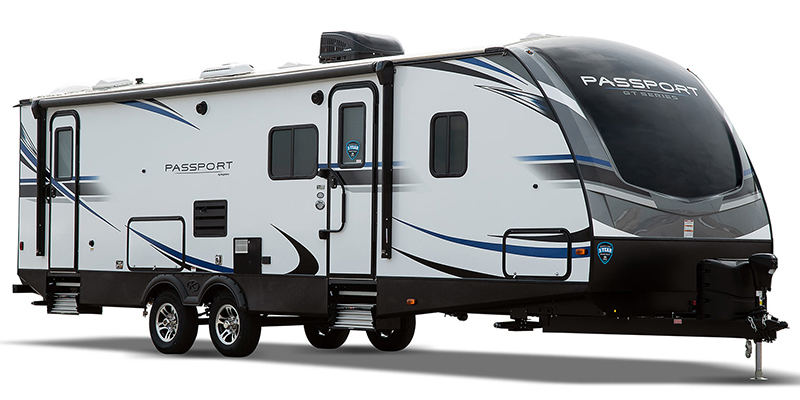 Passport 2210RB GT at Campers RV Center, Shreveport, LA 71129