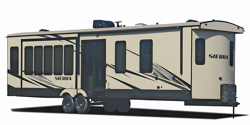 Sierra Destination 404QBWD at Youngblood Powersports RV Sales and Service