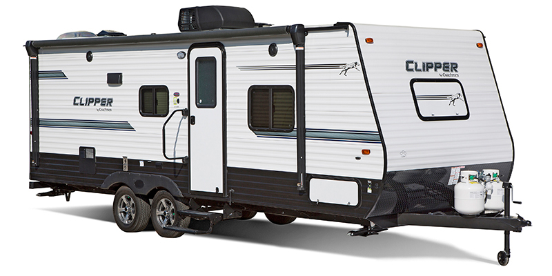 Clipper Tandem Axle 21FQS at Campers RV Center, Shreveport, LA 71129