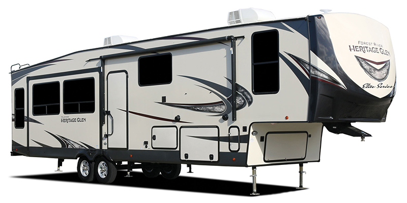 Wildwood Heritage Glen Elite Series 34RL at Youngblood Powersports RV Sales and Service