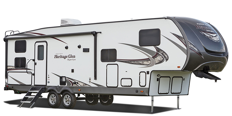 Wildwood Heritage Glen Hyper Lyte 28BHHL at Youngblood Powersports RV Sales and Service