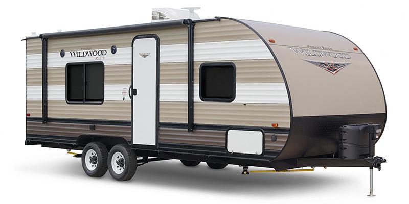 2019 Forest River Wildwood X-Lite 171RBXL Rear Bath at Campers RV Center, Shreveport, LA 71129