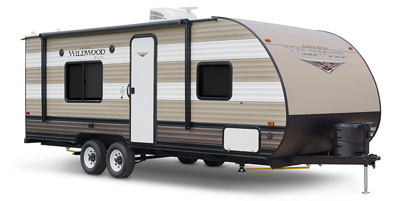 2019 Forest River Wildwood X-Lite 171RBXL Rear Bath at Campers RV Center, Shreveport, LA 71129