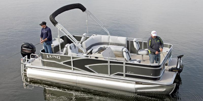 2019 Lund LX 200 Pontoon Boat 4 Point Fish at Pharo Marine, Waunakee, WI 53597