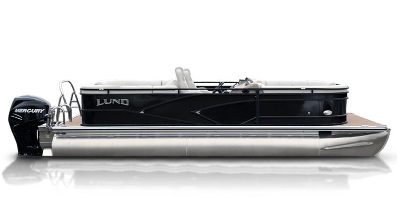 2019 Lund LX 200 Pontoon Boat Walk Thru Dual Seat at Pharo Marine, Waunakee, WI 53597