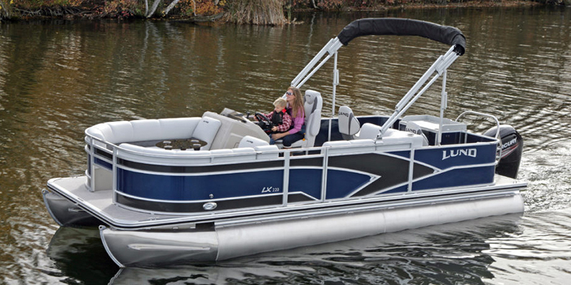 2019 Lund LX 220 Pontoon Boat Cruise at Pharo Marine, Waunakee, WI 53597