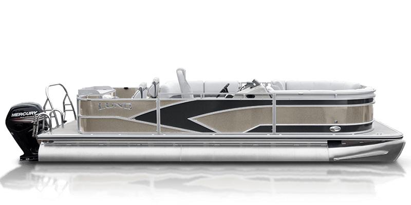 2019 Lund LX 220 Pontoon Boat Fish and Cruise at Pharo Marine, Waunakee, WI 53597