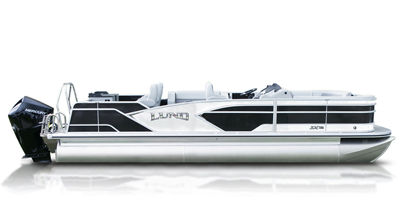 2019 Lund ZX 230 Pontoon Boat Fish and Cruise at Pharo Marine, Waunakee, WI 53597
